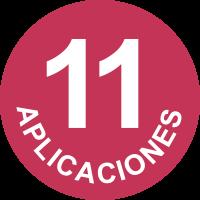 11 aplicaciones